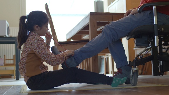 VPRO Bikkels:  De 11-jarige Zoe en haar vader Peter